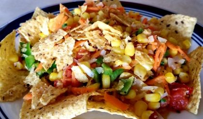 Corn-Nachos Salad