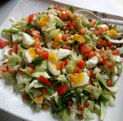 Protein-Sprout Salad